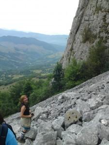 Greu urcus la Buces Valcan